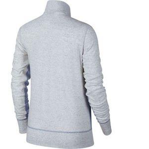 Nike Tops - Nike Vintage Full Zip Jacket Heather Large New